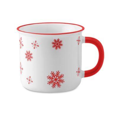 """Božična """"vintage"""" keramična skodelica"""