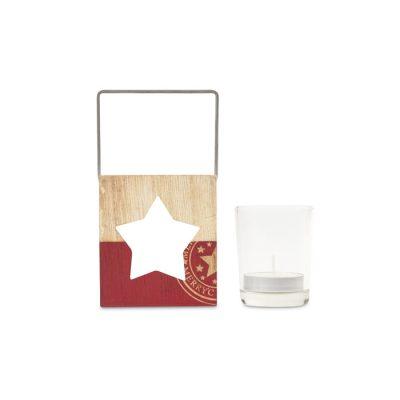 Lesen dekorativni svečnik – zvezdica