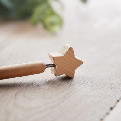 Lesen kemični svinčnik z zvezdico na vrhu