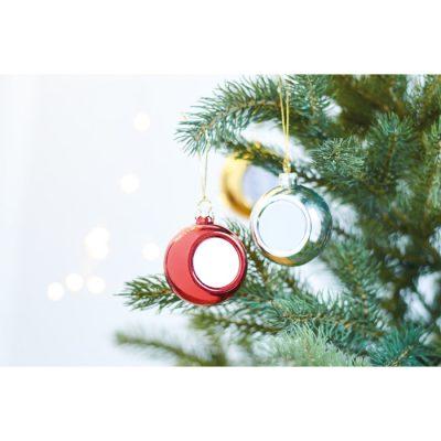 Božična krogla iz svetlečega PP