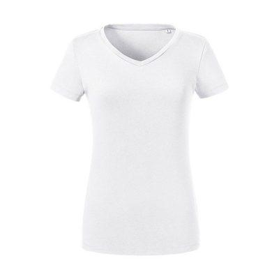 """Ženska T-shirt majica – """"Pure Organic"""" – """"V"""" izrez"""